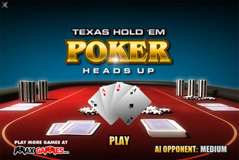 texas holdem poker flash game